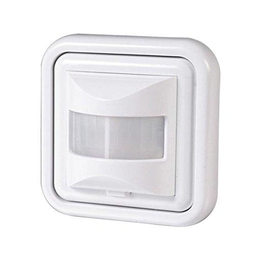 bewegungsmelder 500 w licht schalter led wand einbau infrarot unterputz wei. Black Bedroom Furniture Sets. Home Design Ideas