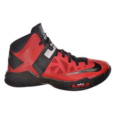 Black nike basketball shoes