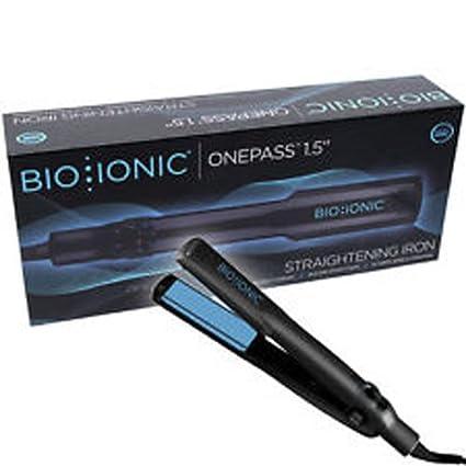 """Bio Ionic OnePass 1.5"""" Nano Ceramic Straightening Iron"""