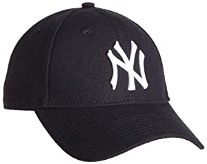 MLB New York Yankees Pinch Hitter Wool Replica Adjustable Cap, Black