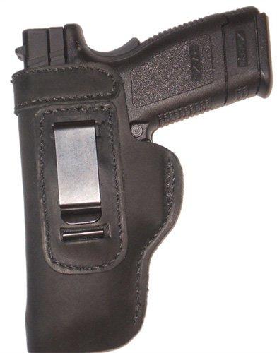 Ruger Lcr 22, 38, 357 Leather Gun Holster Pro Carry Lt Left Hand Iwb Black