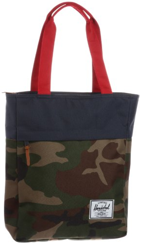 Herschel Supply Co. Harvest, Woodland Camo/Navy/Red, One Size