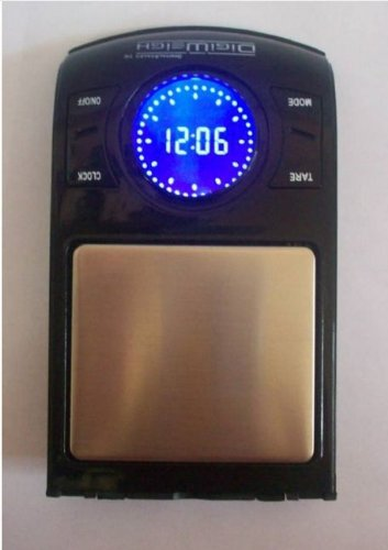 NEW Electronic Dental Gold Scale with Clock! Grams, Troy Oz, Pennyweight & More!