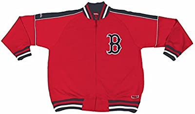 MLB Boston Red Sox Contrast Shoulder Track Jacket