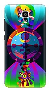 Generic Hard Printed Back Cover for Xiaomi Mi4 (Multicolor)