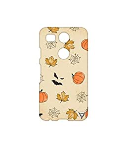 Vogueshell Halloween Patterns Printed Symmetry PRO Series Hard Back Case for LG Nexus 5X
