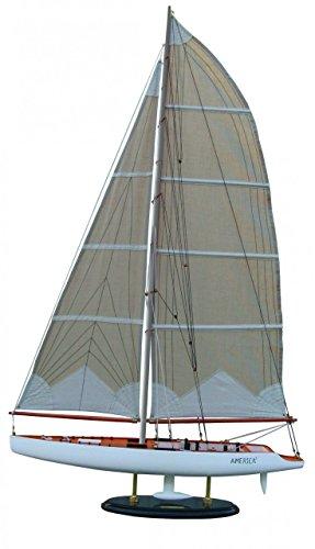 Batela-Holz-Modell-Segelyacht-America-III-60cm