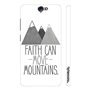 HTC One A9 Faith can move mountains designer mobile hard shell case by Enthopia