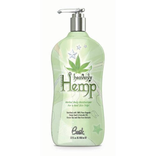 Bask Heavenly Hemp Herbal Moisturizing Lotion 22oz