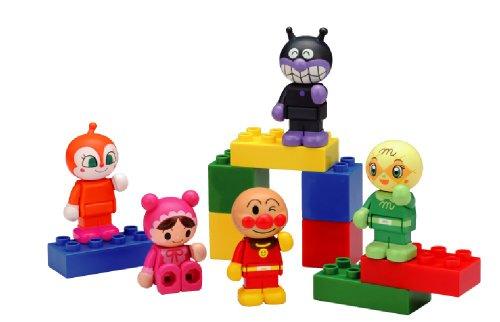 ブロックラボ アンパンマン ブロックといっしょに遊べる!