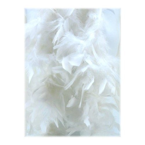 White Feathered Boa