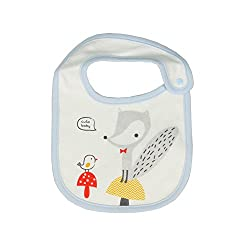 Cutebaby Sprout bib for newborn and babys Blue