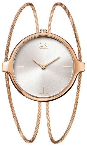 Calvin Klein Agile K2Z2M616 Watch LADIES Rose gold plated stainless steel