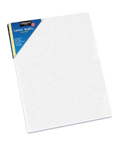 Sargent Art 90-3001 8x10-Inch Flat Canvas Panel, 100% Cotton