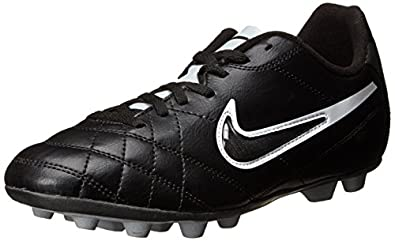 Nike Jr Tiempo Rio Interchange FG-R 524396-010 Youth's Boy's Performance Soccer Shoes (3 M US Little Kid)