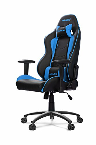 Akracing-AK-5015-Nitro-Ergonomic-Series-Executive-Racing-Style-Computer-Gaming-Office-Chair-with-Lumbar-Support-and-Headrest-Pillow-Included