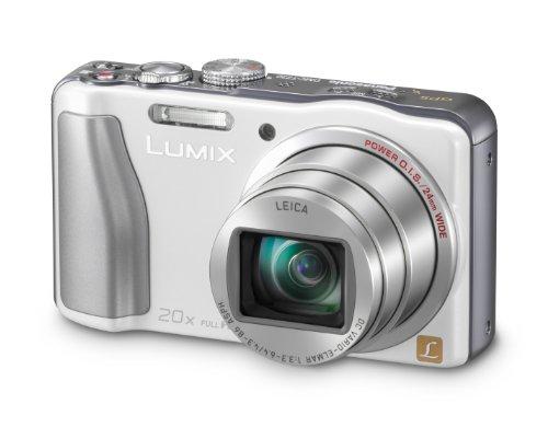 Panasonic DMC-TZ30EB-W Compact Camera - White (14.1MP, 20x Optical Zoom) 3 inch LCD