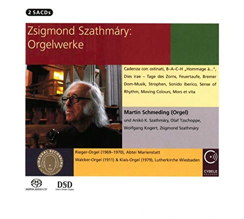SACD : SZATHMARY / VARIOUS - Organ Works (Hybrid SACD, 2 Pack)
