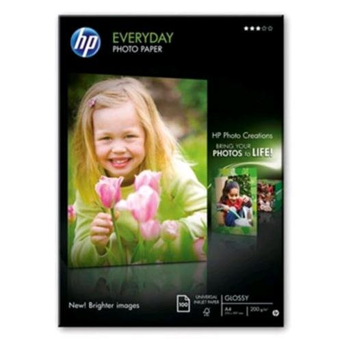 HP Everyday Photo paper - Glossy photo paper - A4 (210x297mm) 200 g/m2 - 100 sheet(s)