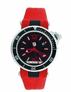 Gio Monaco Men's 785-P02 Poseidon Abissi Automatic Red Luminous Rubber Watch