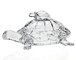 Godinger 5H in. Turtle Box