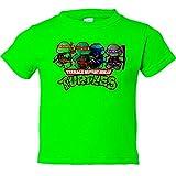 Camiseta ni�o Tortugas Ninja - Pistacho, 9-11 a�os