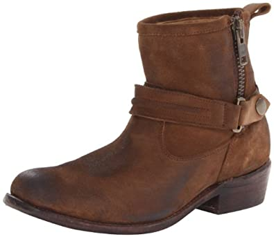 Bed Stu Women's Double Boot,Camel,6 M US