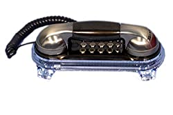talktel antique look corded landline phone f2 bronze