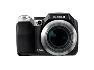 Fujifilm Finepix S8000fd 8MP Digital Camera with 18x Optical Image Stabilization