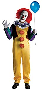 Rubie's Costume Men's It The Movie Adult Pennywise Deluxe, Multicolor, Standard