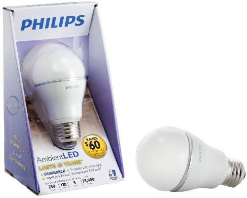Philips Lighting 422147 7 Watt Soft White A19 Led Light Bulb