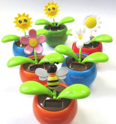 Swing Sun Flower Car Interior Decor