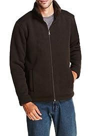Fleece Lined Zip Through Jacket [T28-2276M-S]