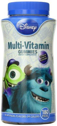 Disney Multivitamin Gummies, Monsters University, 180 Count front-363294