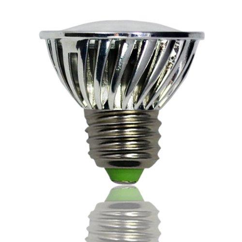 Zono® Environmental E27 Base 15 5050 Smd 3W Led Spotlight Lamp With Transparent Glass Cover