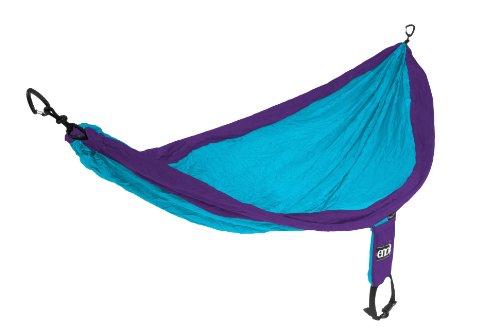 Eagles Nest Outfitters - SingleNest Hammock, Purple/Teal (FFP)
