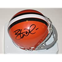 Brandon Weeden Cleveland Browns Signed Autographed Riddell Mini Helmet Authentic Certified Coa