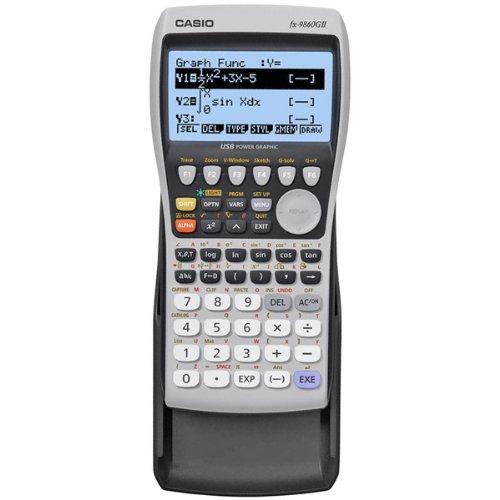 Casio USB Graphing Calculator Model FX-9860GII