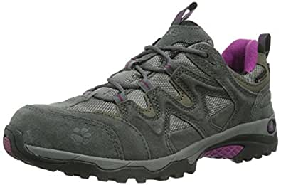 Jack Wolfskin CANYON HIKER TEXAPORE WOMEN 4007242-2023030 Damen Trekking- & Wanderschuhe, Crimson, EU 35.5 (UK 3) (US 5)