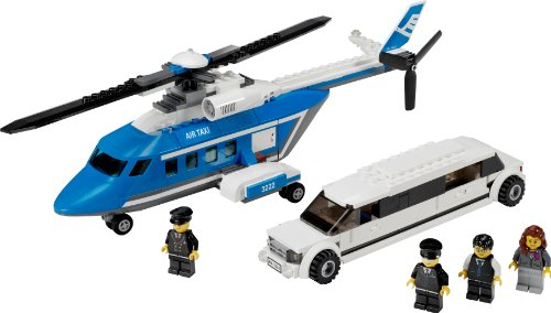 Lego City Helicopter and Limousine