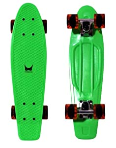 Buy Mini Three XS 22 Skateboard with Vinyl Deck with Colorful Combos by Three XS