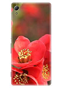 Spygen Premium Quality Designer Printed 3D Lightweight Slim Matte Finish Hard Case Back Cover For Sony Xperia Z4