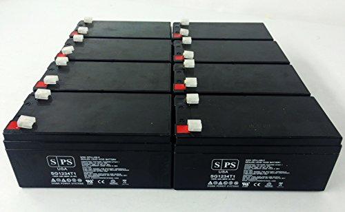Replacement Battery For Parks Medical Doppler 1052 (Original) - Sps Brand ( 8 Pack )