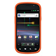 Amzer 90170 Silicone Skinelly Case - Orange For Samsung Nexus S, Google Nexus S