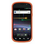 Amzer 90170 Silicone Skinelly Case - Orange for Samsung Nexus S, Google Nexus S