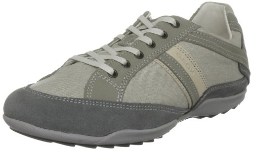 Geox Men's U Pietro S Grey/Off White Fashion Trainer U2231S1022C1350 6.5 UK, 40 EU