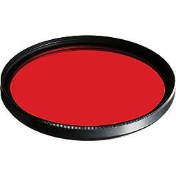 B + W 62mm #090 Glass Filter - Light Red #24