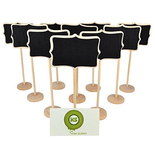 kiwisunny-irregolare-in-legno-mini-lavagna-lavagnette-messaggi-wordpad-per-numero-tavolo-per-feste-e