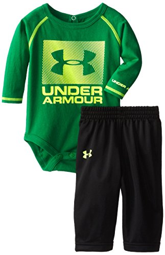 Under Armour Baby-Boys Newborn All Day All Night Set, Blade, 3-6 Months front-1044392