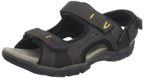Camel active Pacific 14 Sandals Mens Brown Braun (mocca) Size: 10 (44 EU)